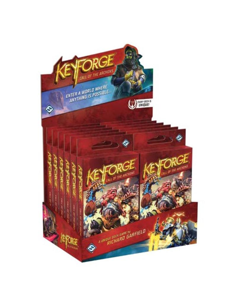 Fantasy Flight Games KeyForge: Call of the Archons Archon Deck Display