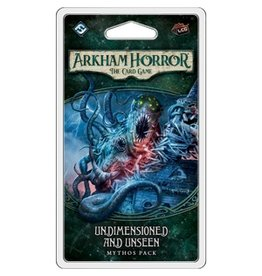 Fantasy Flight ARKHAM HORROR LCG: UNDIMENSIONED AND UNSEEN
