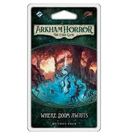 Fantasy Flight ARKHAM HORROR LCG: WHERE DOOM AWAITS