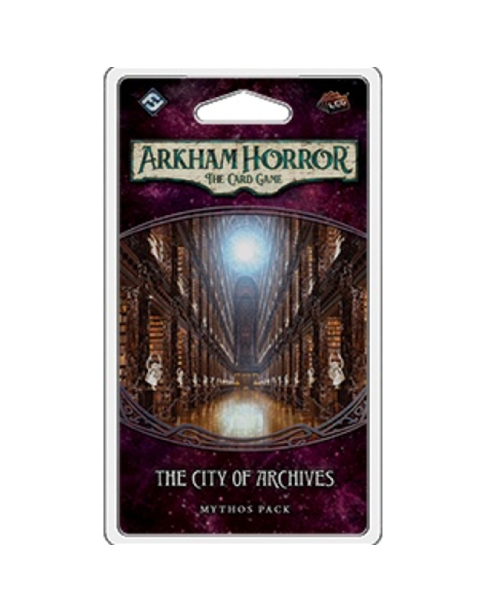 Fantasy Flight ARKHAM HORROR LCG: THE CITY OF ARCHIVES