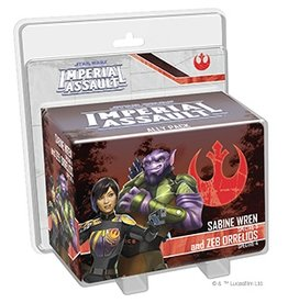 Fantasy Flight Games Sabine Wren and Zeb Orrelios
