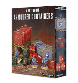 Games Workshop Munitorium Armored Containers