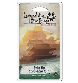 Fantasy Flight Games Legend of the Five Rings LCG: Into the Forbidden City
