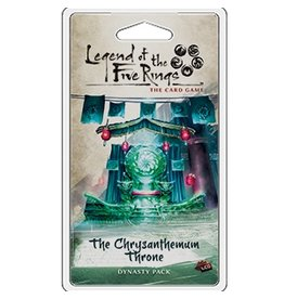Fantasy Flight Games Legend of the Five Rings LCG: The Chrysanthenum Throne
