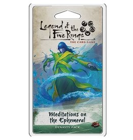 Fantasy Flight Games Legend of the Five Rings LCG: Meditations On the Ephemeral