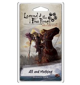 Fantasy Flight Games Legend of the Five Rings LCG: All and Nothing