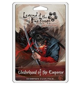 Fantasy Flight Games Legend of the Five Rings LCG: Underhand Of The Emperor Scorpion
