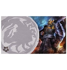 Fantasy Flight Supply Legend of the Five Rings LCG Playmat: Defender of the Wall (Crab)