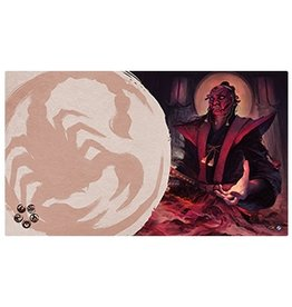 Fantasy Flight Supply Legend of the Five Rings LCG Playmat: Master of Secrets (Scorpion)