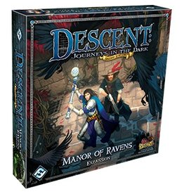 Fantasy Flight DESCENT 2E: MANOR OF RAVENS