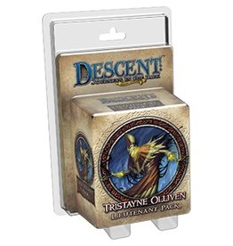 Fantasy Flight Games Descent 2E: Tristayne Olliven Lieutenant