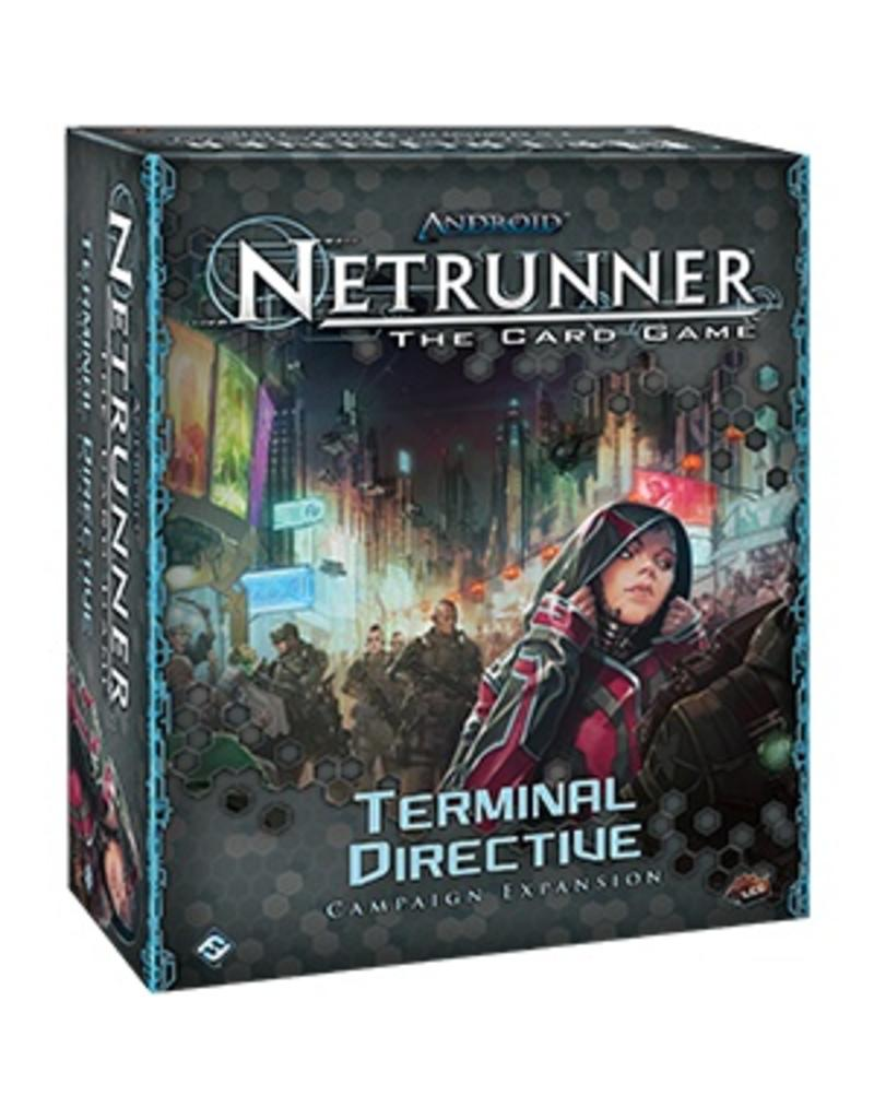 Fantasy Flight Games Android Netrunner LCG: Terminal Directive