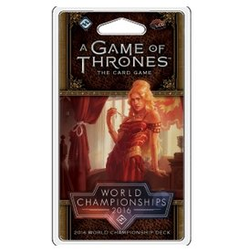 Fantasy Flight Games Game of Thrones LCG: 2016 World Champion Deck