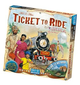 Days of Wonder Ticket to Ride Map Collection Volume 2: India and Switzerland