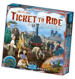Days of Wonder Ticket to Ride Map Collection Volume 6: France / Old West