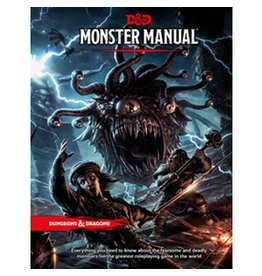 Wizards of the Coast D&D 5E: Monster Manual