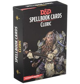 Gale Force Nine D&D Spellbook Cards: Cleric 2nd Edition