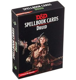 Gale Force Nine D&D 5E: SPELLBOOK CARDS: DRUID 2ND EDITION