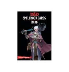 Gale Force Nine D&D 5E: SPELLBOOK CARDS: BARD 2ND EDITION