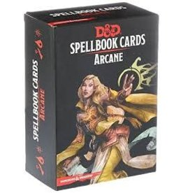 Gale Force Nine D&D Spellbook Cards: Arcane 2nd Edition