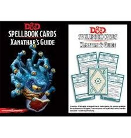 Gale Force Nine D&D Spellbook Cards: Xanathar's Guide
