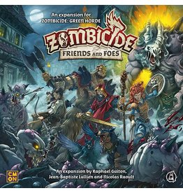 CMON ZOMBICIDE GREEN HORDE: FRIENDS AND FOES