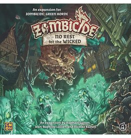 CMON ZOMBICIDE GREEN HORDE: NO REST FOR THE WICKED