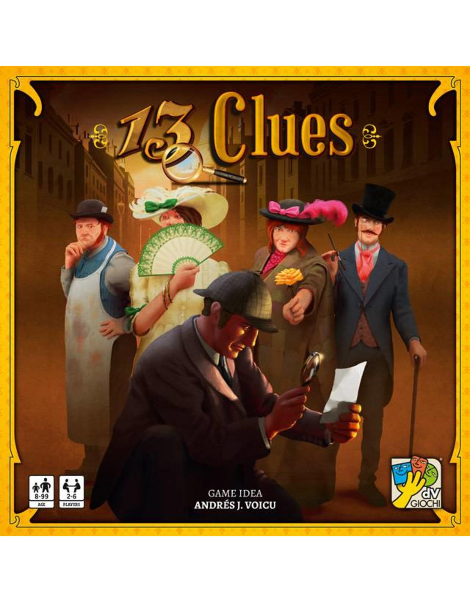 CMON 13 CLUES