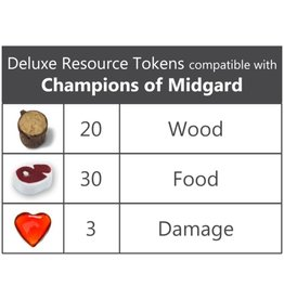 Top Shelf Gamer REALISTIC RESOURCES - CHAMPIONS OF MIDGARD