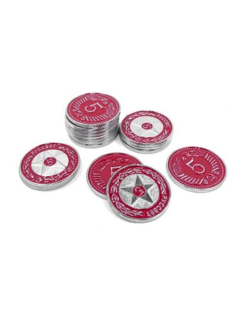 Meeple Source Scythe Metal Coins: $5