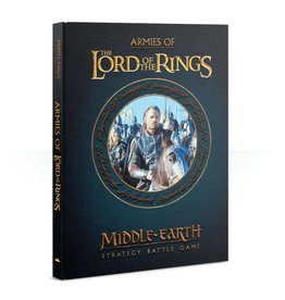 Games Workshop Middle Earth Strategy Game: Armies of the Lord of the Rings Sourcebook