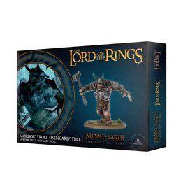 Games Workshop LOTR: MORDOR TROLL / ISENGARD TROLL