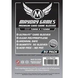 Mayday Sleeves: Mayday - Magnum Silver Premium 70x110mm 50ct
