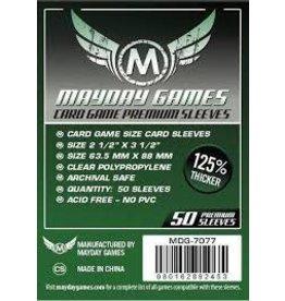 Mayday Sleeves: Mayday - Standard Premium 63.5x88mm 50ct