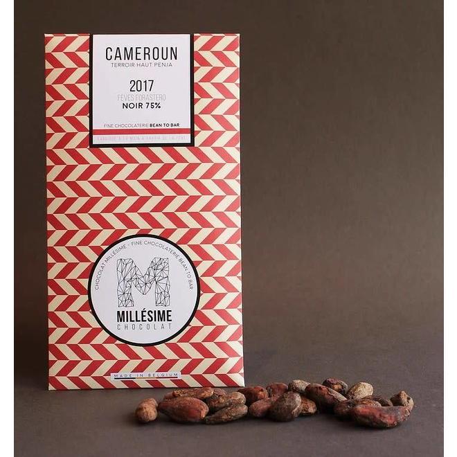 Millésime Millésime - Dark Chocolate Bar 75%, Cameroon