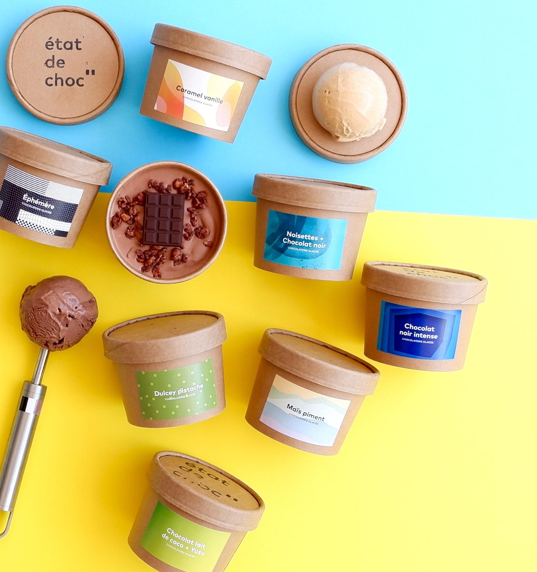 Crème glacée 7 saveurs