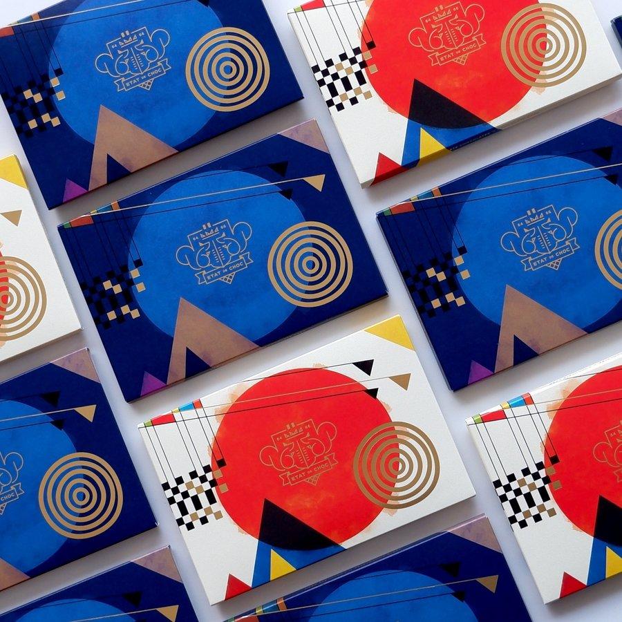 Cartes chocolatées