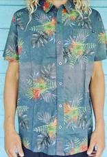 Blueline Surf + Paddle Co. Pacifica SS Buttondown Shirt