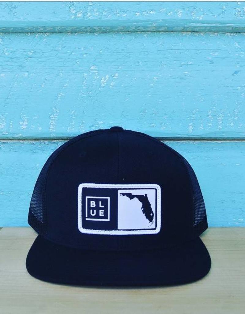 Blueline Surf + Paddle Co. Florida Box Hat