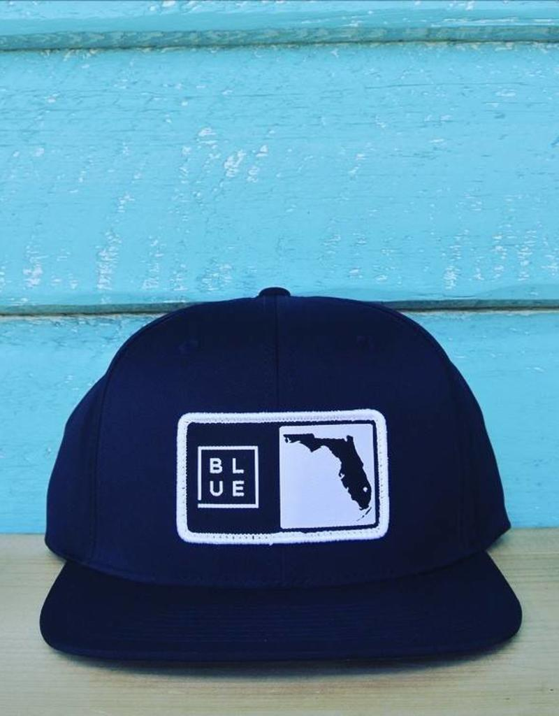 Blueline Surf + Paddle Co. Florida Box Perforated Hat