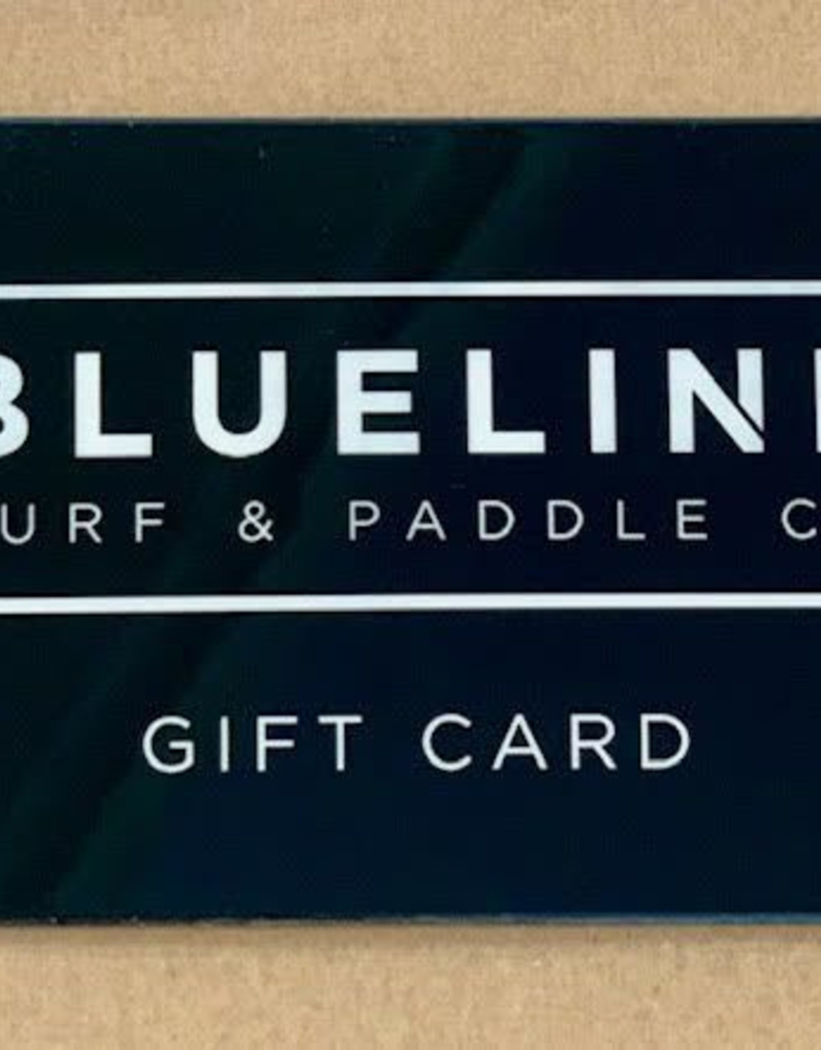 Blueline Surf + Paddle Co. $25 Gift Card