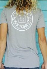 Blueline Surf + Paddle Co. The Original Athletic Gray\White