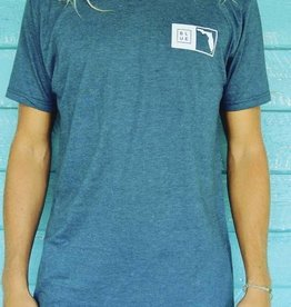 Blueline Surf + Paddle Co. The Florida Box Navy Heather\White