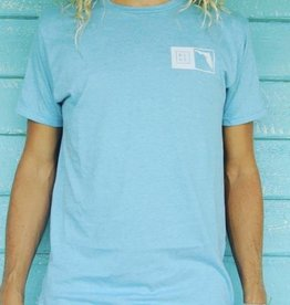 Blueline Surf + Paddle Co. The Florida Box Light Blue Heather\White