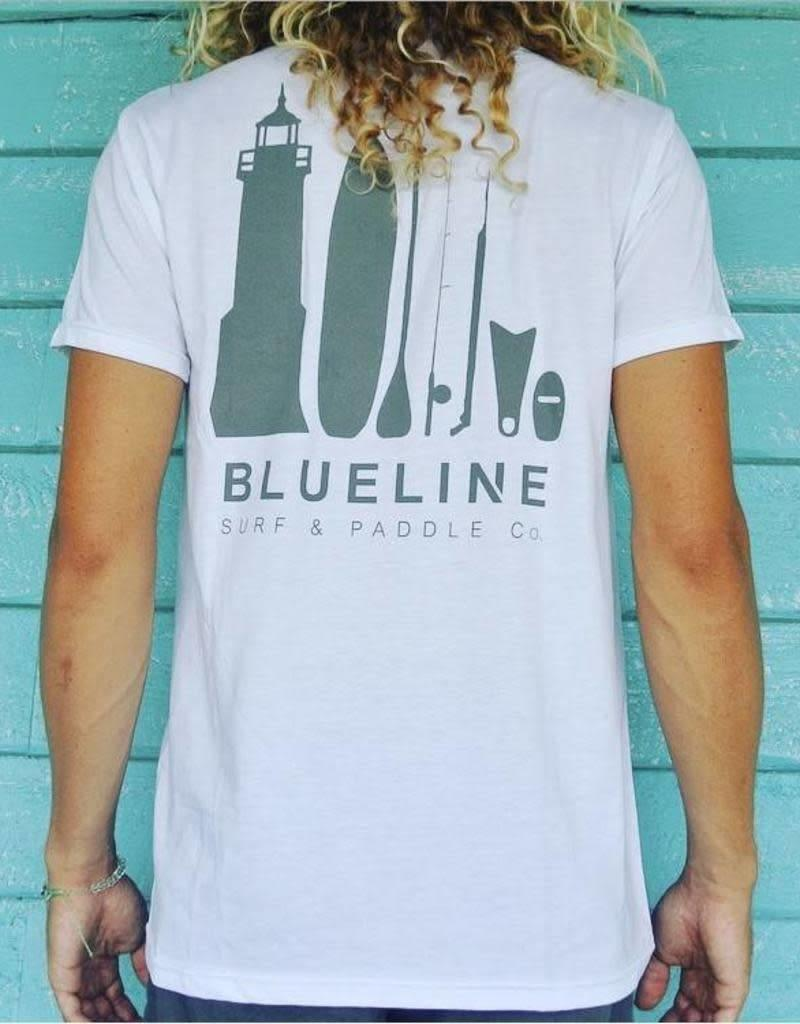 Blueline Surf + Paddle Co. The Lifestyle White\Gray