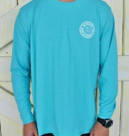 Blueline Surf + Paddle Co. OT Original UV LS Marine\White