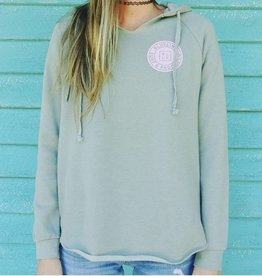 Blueline Surf + Paddle Co. Ladies Original Hoodie Sage