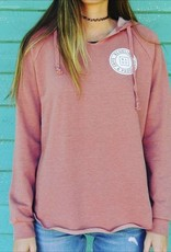Blueline Surf + Paddle Co. Ladies Original Hoodie Dusty Rose