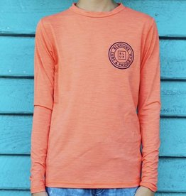 Blueline Surf + Paddle Co. Youth Original UV LS Coral