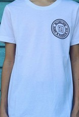 Blueline Surf + Paddle Co. The Original Youth Tee White